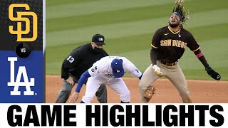 Padres vs. Dodgers Game Highlights (4/25/21) | MLB Highlights