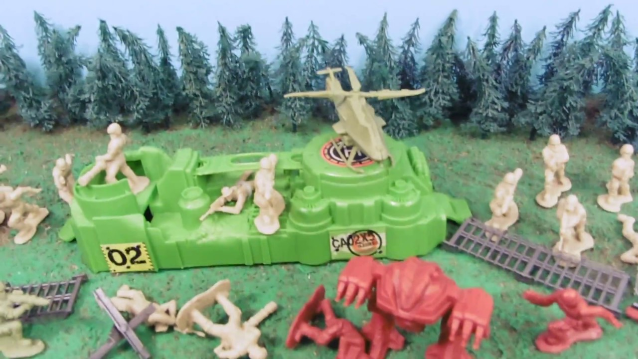The Corps! Brand New The Corps Elite Army Playset