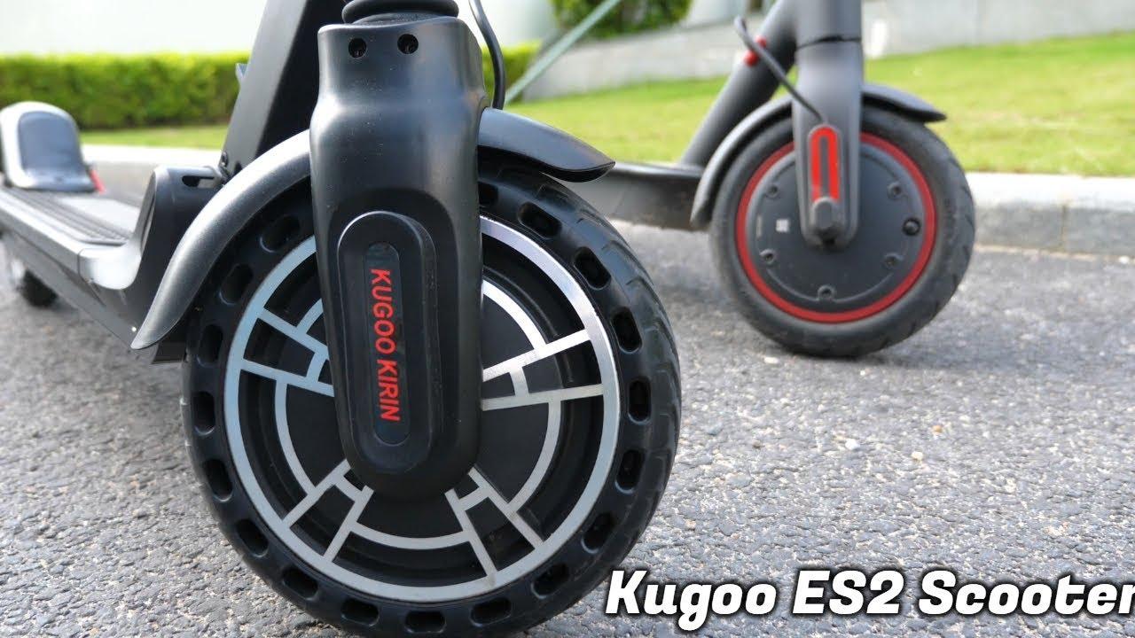 Kugoo ES2 E-Scooter: the Mijia M365 Pro Alternative