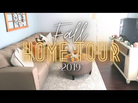 Fall Home Tour 2019 / Budget Fall Decorating / Dollar Tree Fall Decor