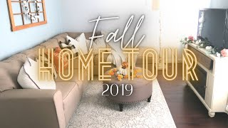 Fall Home Tour 2019 / Budget Fall Decorating / Dollar Tree Fall Decor