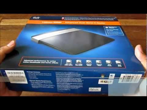 Cisco Linksys E2500 Unboxing - Advanced Dual-Band Wireless N Router For PHP 5,595