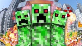 НЯША КРИПЕР Майнкрафт Клип Minecraft Parody Song of PSY s Daddy