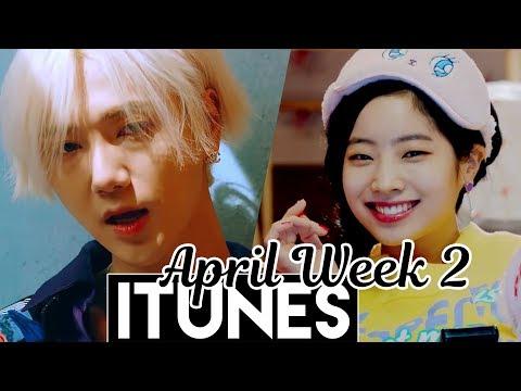 [TOP 30] US iTunes Kpop Chart 2018 [April Week 2]