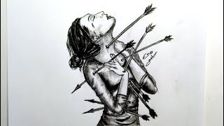 رسم سهل بالرصاص .. سلسلة الرسوم التعبيرية #29