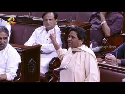 Mayawati Argues BJP Over Dayashankar Singh Comments On Her | Rajya Sabha | Parliament Session