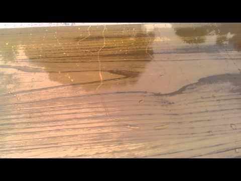 Piano Lavabo Legno Massello Resina Epossidica Desi Youtube