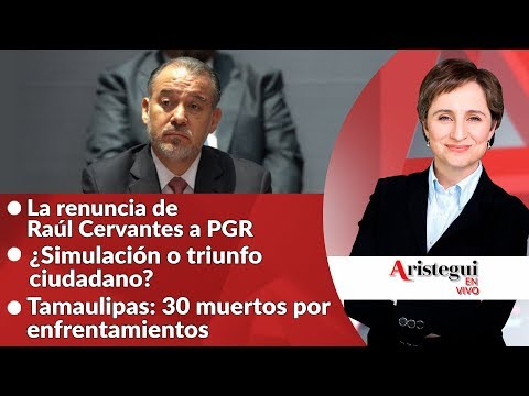 Aristegui en vivo 16 de Octubre