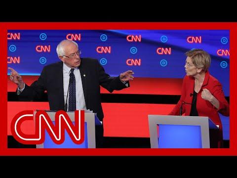 Sources: Bernie Sanders told Elizabeth Warren that a woman couldn't win