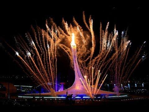 Церемония закрытия XXII Зимних Олимпийских игр.   Сочи  2014г. Фото.