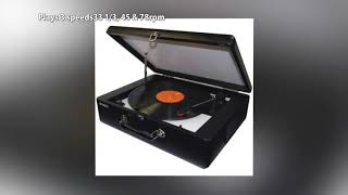 JENSEN JTA 420 Portable Turntable with Built In Speakers