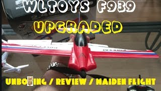 Upgraded WLtoys Pole Cat F939 - Unboxing, Review And Maiden Flight (BANGGOOD)