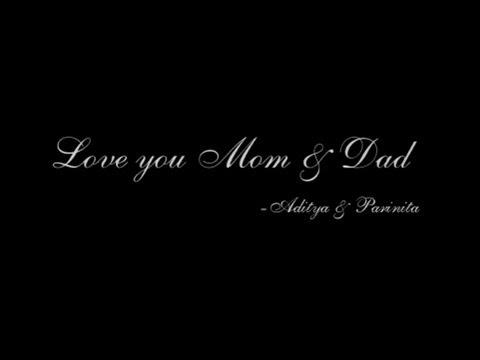 Mom & Dad's 25th Anniversary (A tribute)