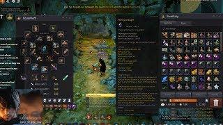 BDO - 281 Wizard Sycraia ruins 1.9k Trash/hr