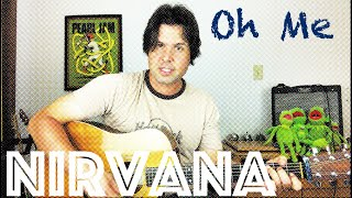 Guitar Lesson: How To Play Oh Me by the Meat Puppets - Nirvana Unplugged Style