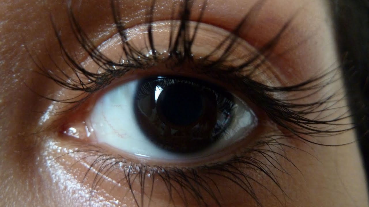 Image result for natural healthy lashes on black women