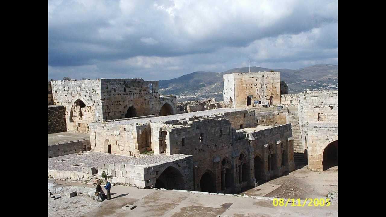 2005 syria krak des chevaliers le plus beau ch teau fort for Le chateau le plus beau du monde