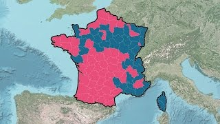 French Presidential Election Results (1965-2012)