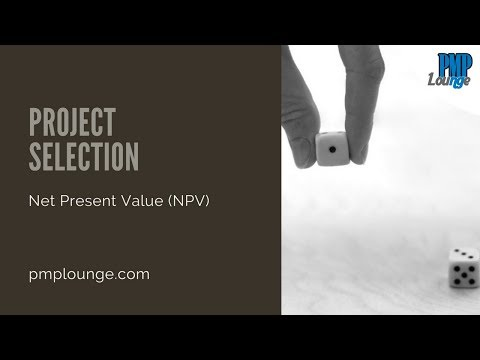 Project Selection - Net Present Value