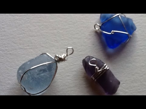 Make A Pretty Sea Glass Wire Pendant - Style - Guidecentral