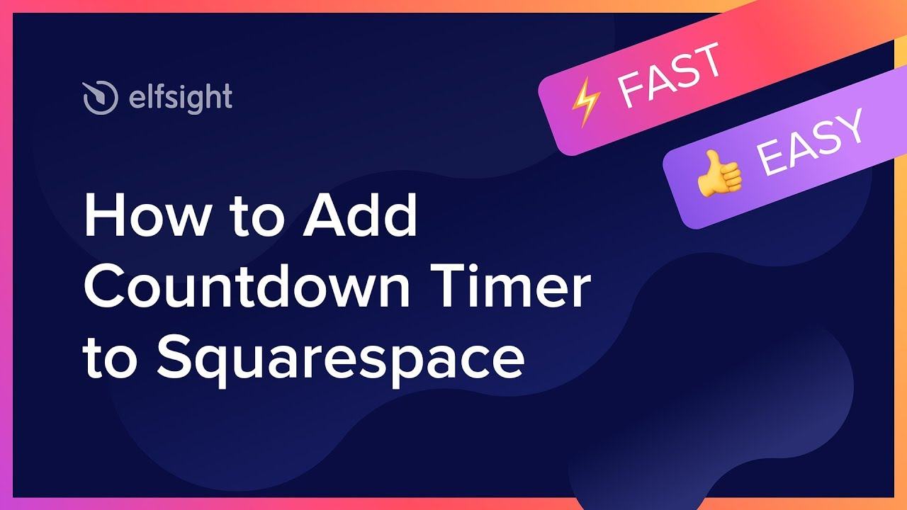 The best Squarespace Countdown Timer plugin for website (2019)