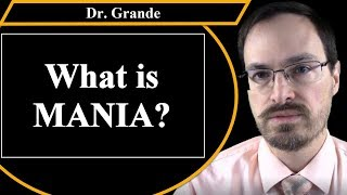 What is Mania and how is it related to Bipolar Disorder?