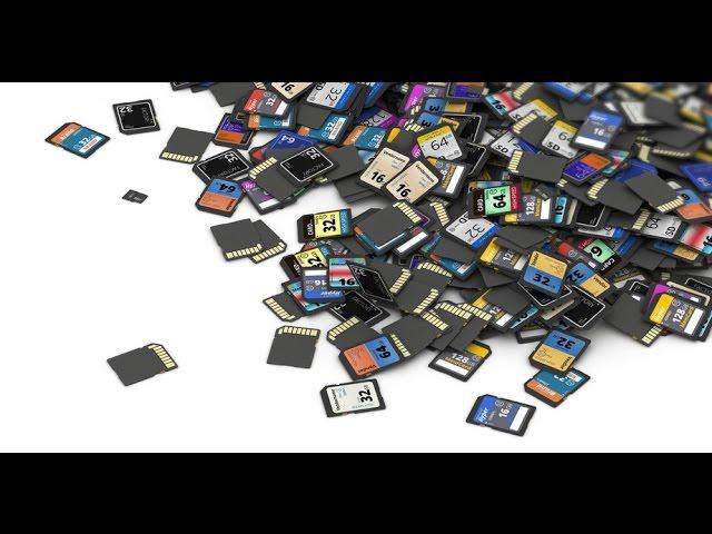 Как выбрать карту памяти для планшета