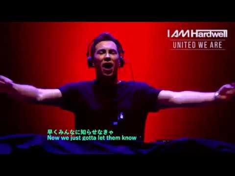 EDM 和訳 Hardwell &Tiësto − Colors ft. Andreas Moe