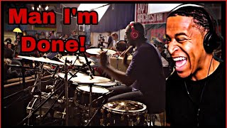 Drummer Reaction  Larnell Lewis Snarky Puppy  What About Me? (We Like It Here)