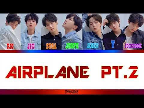 [sub Indo] BTS (방탄소년단) - 'Airplane Pt 2'colour Coded Lyrics[han/rom/sub Indo]
