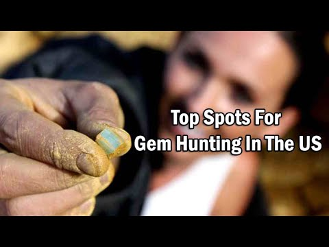 9 Best Spot For Gem Hunting In The Us