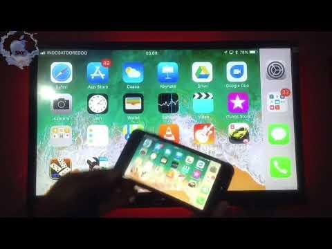 HDMI Wifi DISPLAY DONGLE, Support IOS / Iphone - (Cara Menampilkan HP Smartphone Ke Layar TV LED)
