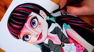 DRACULAURA Drawing MONSTER HIGH