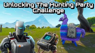 Fortnite Unlocking The Hunting Party Challenge