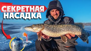 Расставил ЖЕРЛИЦЫ на ЩУКУ и понеслось Рыбалка на ЖЕРЛИЦЫ зимой 2021