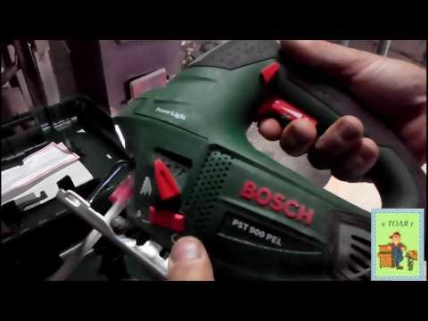 Видео обзор: Лобзик BOSCH PST 900 PEL