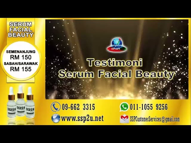 Testimoni SSP 1 (Serum Facial Beauty)
