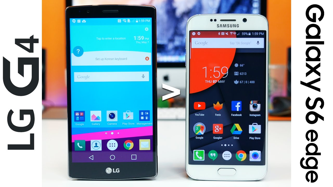 12 reasons why lg g4 is better than samsung galaxy s6 edge youtube. Black Bedroom Furniture Sets. Home Design Ideas