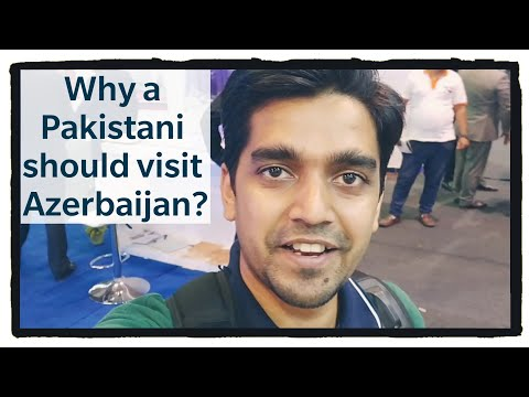 Why a Pakistani Should Visit Azerbaijan? | Pakistan Travel Mart | Vlog 25 | Aligopoly