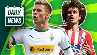 Antoine Griezmann wird gehen und Atlético Madrid bricht auseinander! Hazard zum BVB fast fix!