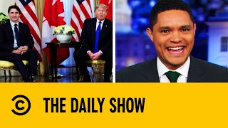 Viral Video Reveals World Leaders Mocking Trump | The Daily Show With Trevor Noah