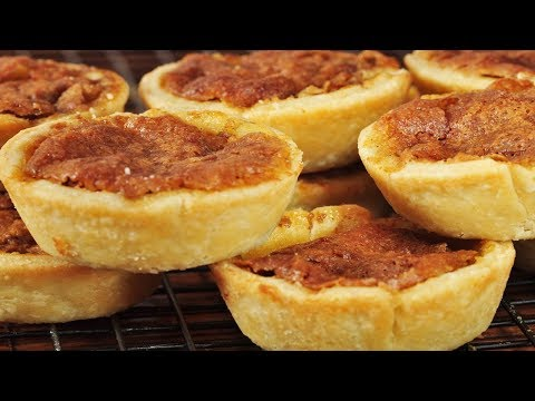 Butter Tarts (Classic Version) - Joyofbaking.com