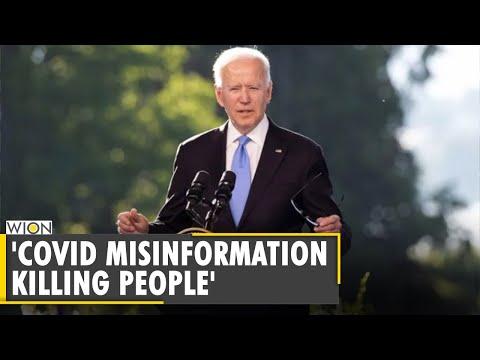 US President Joe Biden says COVID-19 misinformation killing people | Latest World English News |WION