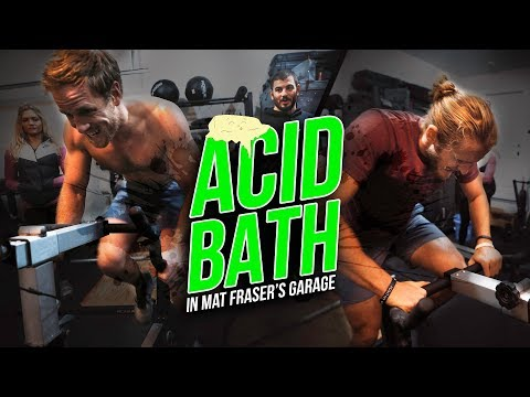 Acid Bath In Mat Fraser's Garage
