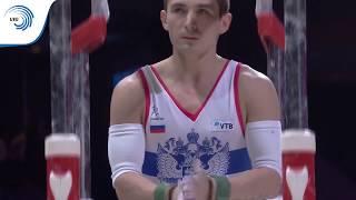 David BELYAVSKIY (RUS) - 2018 Artistic Gymnastics European silver medallist, parallel bars