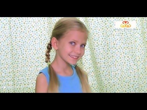 Fünf 2 Minuten Frisuren Für Kinder Youtube