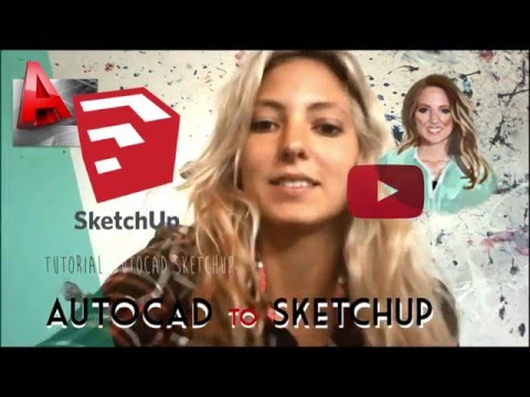 AutoCAD to SketchUp - Importing .dwg to SketchUp right scale