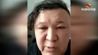 Ырчы Эркин Мукашев дүкөндөгү чырдын видеосу тарагандан бери уулу мектепке барбай жатканын айтты