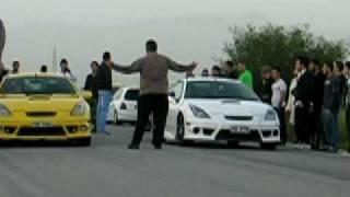 Toyota Celica VS Toyota Celica Drag Cyprus