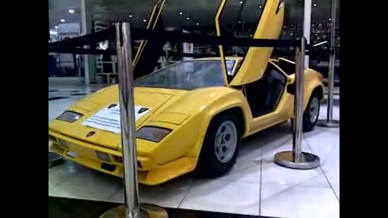 Factory Built Miniature Lamborghini Countach